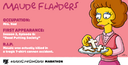 Maude Flanders -Every Simpsons Ever