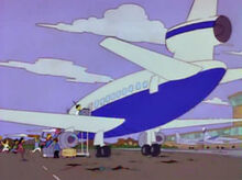 North haverbrook avião lanley aeroporto
