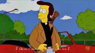 -I Simpson- The Doobie Brothers + Reverend Lovejoy - Jesus Is Just Alright (Sub Ita)