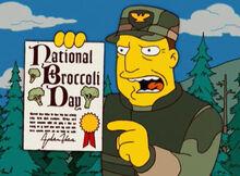 Coronel fort clinton dia do brócolis
