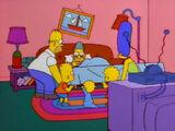 Sleeping Grampa couch gag