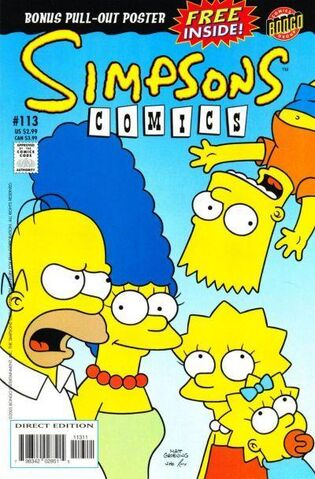 File:Simpsons Comics Issue 113 front cover.jpg
