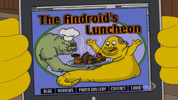 The Android's Luncheon Main Page