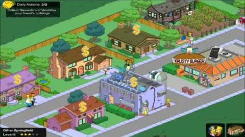 The Simpsons Tapped Out HD Gameplay Trailer
