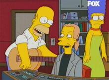 Homer declan violão marge