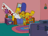 22 Seasons Banner couch gag