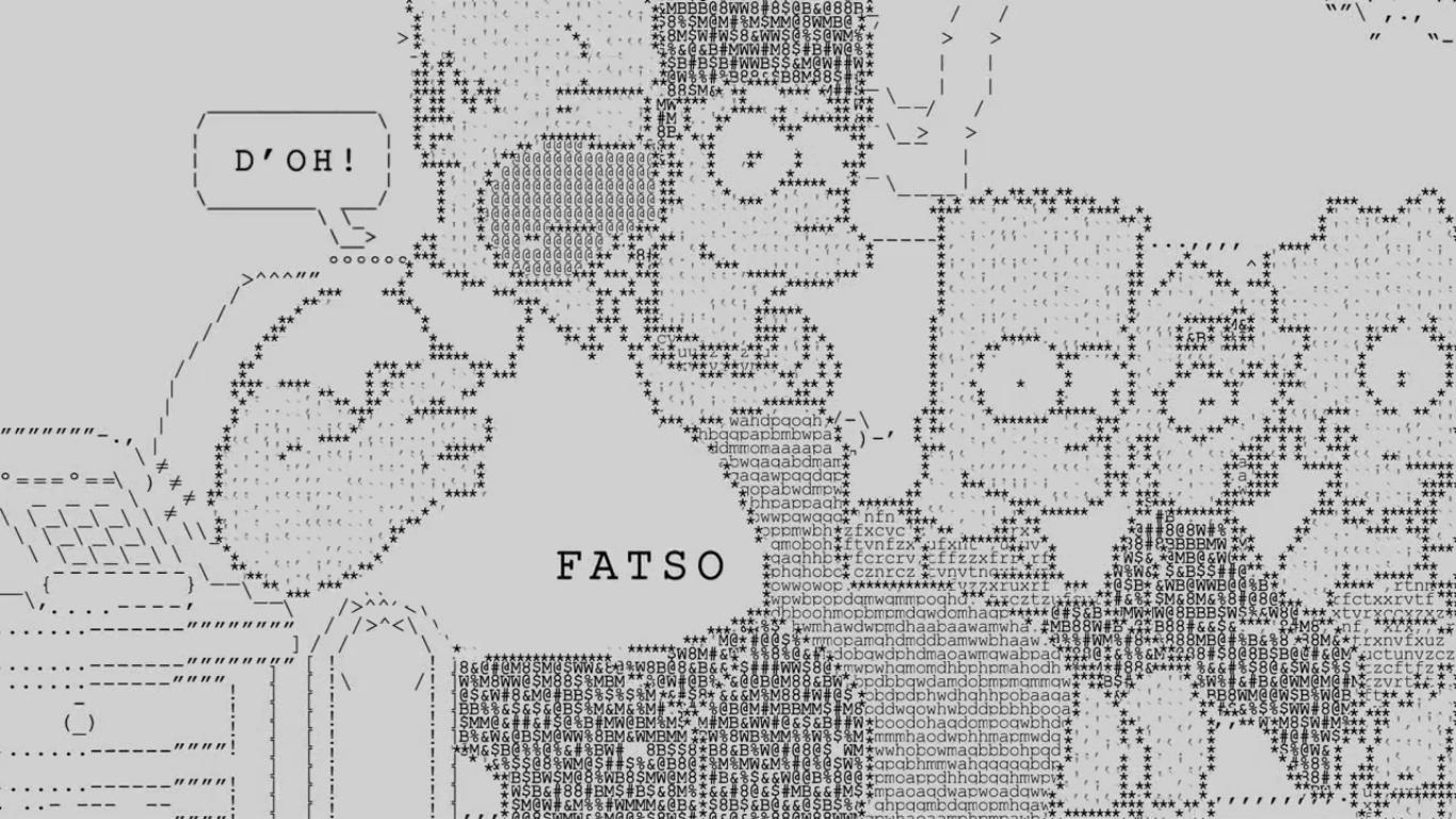 Ascii Family Couch Gag Simpsons Wiki Fandom Powered By Wikia