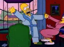 Homer feliz eu não morri