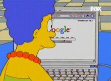 Marge consulta google