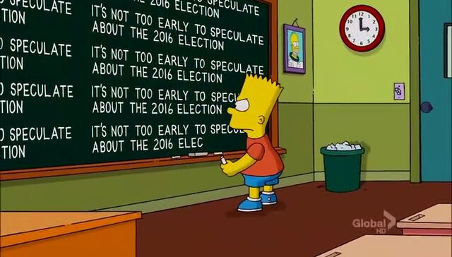 File:Bart Stops to Smell the Roosevelts Chalkboard Gag.JPG