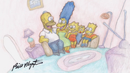 Your Face Couch Gag family