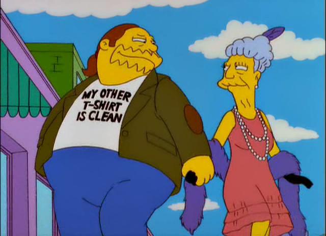 Simpsons family having sex comics