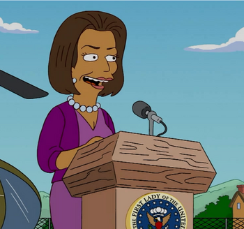 Michelle Obama | Simpsons Wiki | FANDOM powered by Wikia