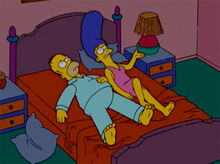 Homer marge colchão ruim
