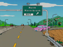 North haverbrook placa saida