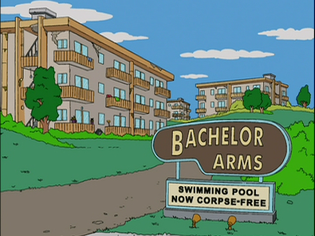 Bachelor Arms | Simpsons Wiki | FANDOM powered by Wikia