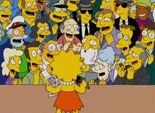 Lisa canta galera