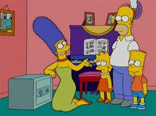 Marge familia cofre fogo