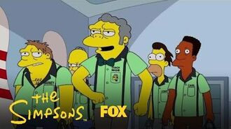 Moe & The Guys Go To The Bowling Alley Season 29 Ep. 7 THE SIMPSONS