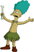 Sideshow Mel in The Simpsons Movie