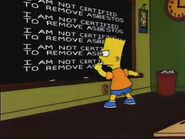 Team Homer Chalkboard Gag