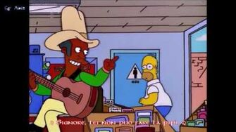The Simpsons - Apu Kids Homer - Don't Fence Me In (Sub Ita)