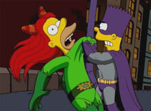 Lenny venenoso colarinho bartman