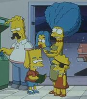 Simpson family lookalikes