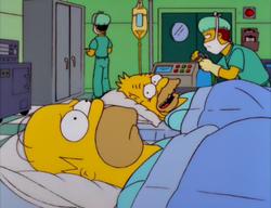 Homer Simpson in Kidney Trouble