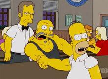 Homer campeonato quedadebraço