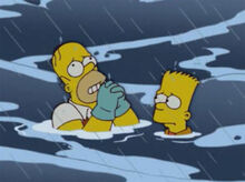 Homer reza naufrágio bart