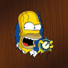 Homer the shinning thoh V