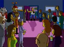 Homer invade club snub