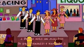 I Simpson Springfield Dinner Theater Luke Skywalker - Guys and Dolls (Sub Ita)-0