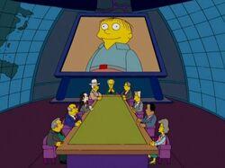 Simpsons Republican Meeting