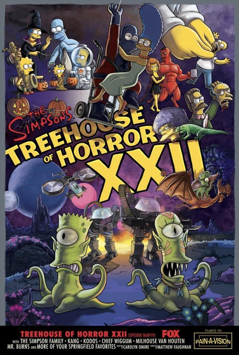 treehouse of horror xxiii dublado