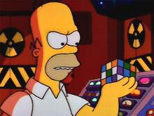 Homer bravo cubo mágico
