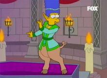 Marge cleriga meio porca