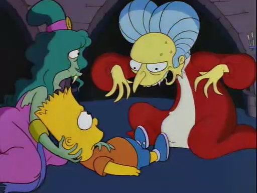 Image result for Bart Simpsons dracula