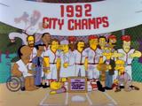 Time de softball da Usina Nuclear de Springfield