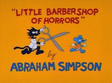 Little barbershop of horrors 1