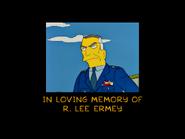 R. Lee Ermey dedication