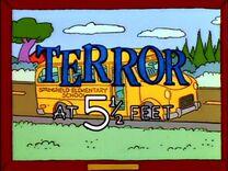 Terror at 5½ Feet