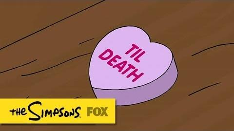 "Valentine's Day Always A Massacre from ""Specs And The City"" THE SIMPSONS ANIMATION on FOX"