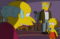 Burns, Lisa i Smithers