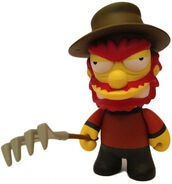 Freddy Krueger Willy-Matt Groening-Simpsons-Kidrobot-trampt-116362m