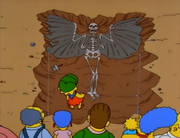 Angel skeleton