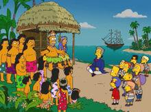Homer bem vindos tahiti