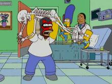 Homer taco belly hospital