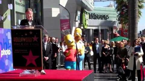 Matt Groening gets a star on Hollywood Walk of Fame